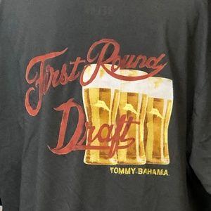 Tommy Bahama Relax Beer XL T-Shirt Gray Tee Shirt